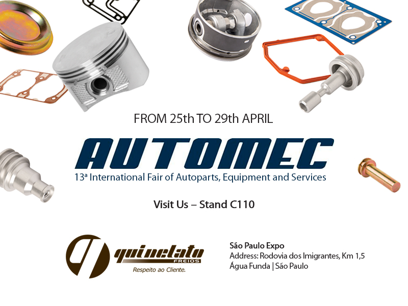 AUTOMEC - 13th  INTERNATIONAL FAIR OF AUTOPARTS, EQUIPMENT AND SERVICES