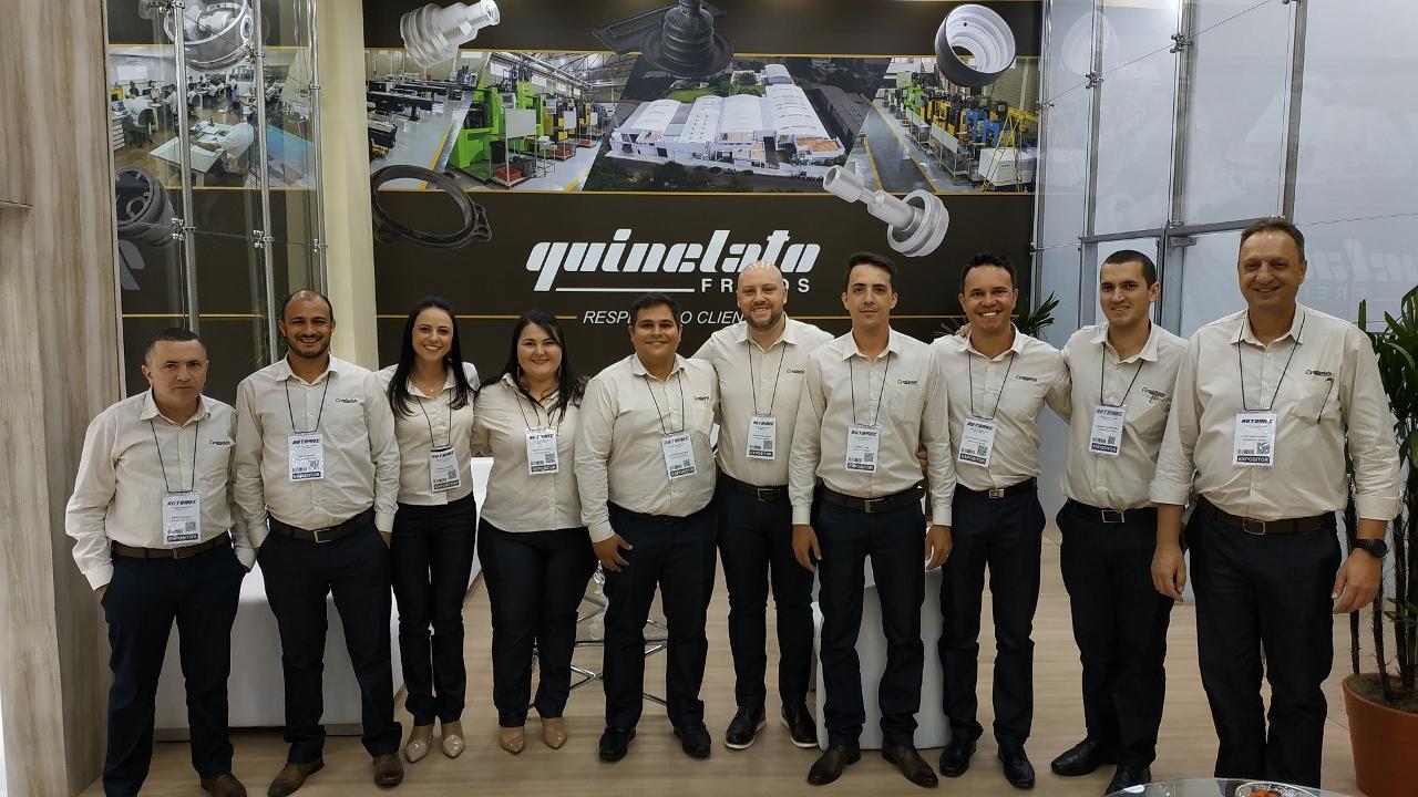Quinelato Freios na Automec 2019